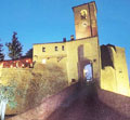 The night of Montegridolfo's castle